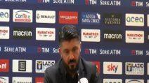 """Gattuso: """"Squadra ha dimostrato carattere. Concentrati fino alla pausa natalizia"""""""