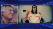 GF Vip, il saluto di Michelle a papà Andrea Mainardi