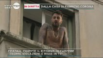 """Mattino Cinque, Fabrizio Corona: """"Attendo la sentenza in silenzio"""""""