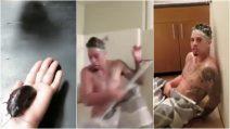 La ragazza nasconde un enorme scarafaggio nella doccia: lo scherzo al fidanzato è tremendo