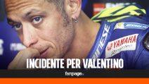 Incidente per Valentino Rossi, ecco le condizioni del campione