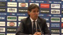 """Inzaghi: """"Questa Lazio merita i complimenti"""""""