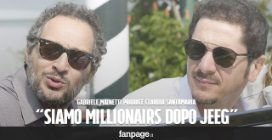"Gabriele Mainetti produce Claudio Santamaria: ""Siamo Millionairs dopo Jeeg Robot"""