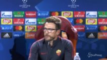 """Di Francesco: """"Voglio una Roma determinata contro l'Atletico"""""""