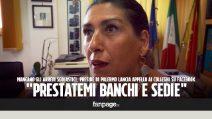 """Palermo, a scuola mancano banchi e sedie. La preside: """"Qualcuno può aiutarci?"""""""