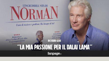 """Richard Gere: """"La mia passione per il Dalai Lama"""""""