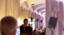 Milano, l'Ave Maria di Bocelli all'esclusivo Swarovski Crystal Wonderland Party