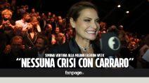 """Simona Ventura sulla crisi con Gero Carraro: """"Non è assolutamente vero"""""""