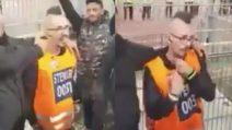 Sosia di Marek Hamsik sugli spalti: la reazione dei tifosi del Napoli è esilarante