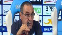 """Sarri: """"Il Napoli non è l'anti Juve"""""""