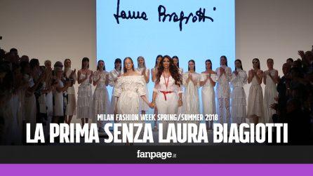 Il commovente tributo alla Biagiotti: a Milano la prima sfilata senza Laura