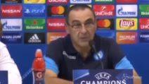 """Sarri: """"Incazzato per quel gol subito nel finale"""""""