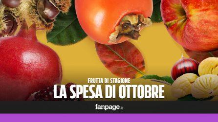 La frutta di stagione: cosa comprare a ottobre