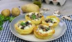 Cestini di patate e funghi: ideali per un pranzo ricco di sapore!