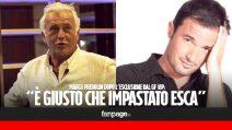 """Marco Predolin dopo la squalifica al GF Vip: """"Bestemmia di Impastato è più grave, giusto che esca"""""""