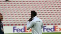 Balotelli e Immobile si incontrano prima di Nizza-Lazio