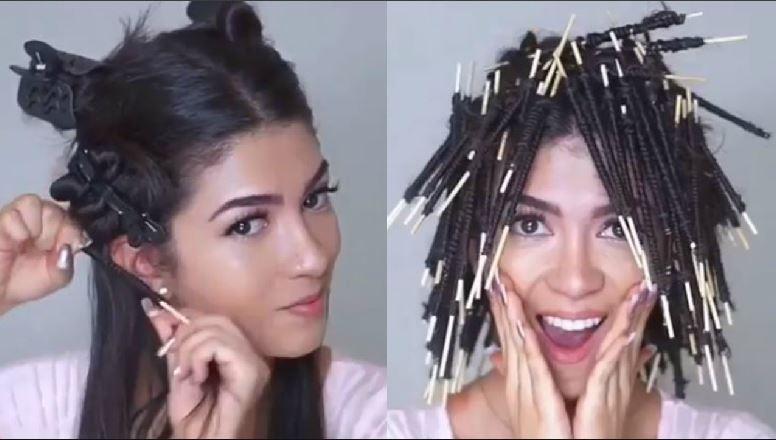 Modellante capelli ricci