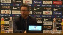 """Di Francesco: """"Serve essere più cinici in zona gol"""""""