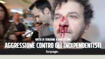 Marcia dei nazionalisti spagnoli, scontri e violenze a Barcellona