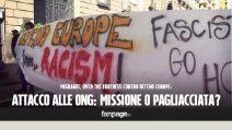 Defend Europe, le due visioni: missione di monitoraggio o pagliacciata ?