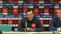 """Montella: """"Al Milan non abbiamo top player da 100 milioni"""""""