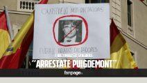 """Girona si prepara a difendere Puigdemont dall'arresto: """"Resisteremo, siamo pronti"""""""