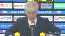 """Atalanta, Gasperini: """"In campionato giochiamo con poca convinzione"""""""