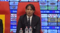 """Lazio, Inzaghi: """"Belli a metà, complimenti a Immobile"""""""