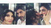 Carmen Di Pietro con Angelo Costabile: bacio al fidanzato di Corinne Clery