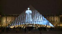 La Pyramide di Parigi rende omaggio al nuovo Louvre di Abu Dhabi