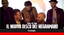 """I Negramaro presentano il loro ultimo disco: """"Ci stavamo sciogliendo, poi la rinascita"""""""