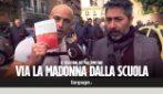 """""""Via la Madonna dalla scuola"""" - la reazione dei palermitani"""