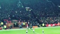 Ibrahimovic torna in campo: l'ovazione dell'Old Trafford