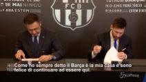 Messi a vita col Barça, rinnova fino al 2021