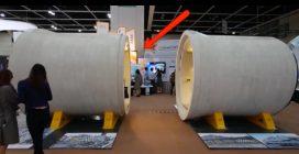 Hong Kong, il tubo di cemento si trasforma in un appartamento: gli interni vi stupiranno