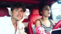 Andrea Damante e Giulia De Lellis insieme in auto: la romantica dedica su Instagram