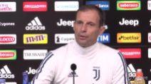 """Allegri: """"Juve-Inter è sfida scudetto ma non decisiva"""""""