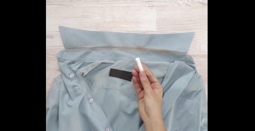 Come Smacchiare Il Colletto Sporco Della Camicia In Modo Semplice