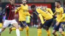 Cutrone cala il tris al Verona, Milan ai quarti di Coppa Italia