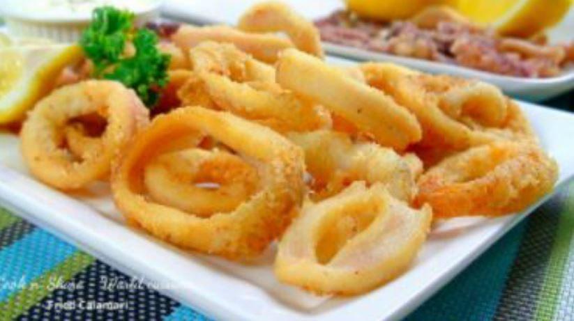Come preparare un ottima frittura di calamari