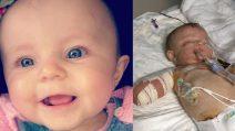 Colpita da meningite a 11 mesi ha perso tutti gli arti, ma continua a lottare. Kia commuove il mondo