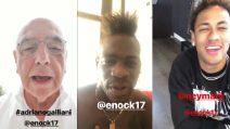 I messaggi di Galliani, Neymar e altri calciatori per Balotelli e il fratello Enock