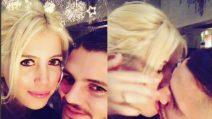 Bacio hot tra Wanda Nara e Mauro Icardi: il saluto per il nuovo anno