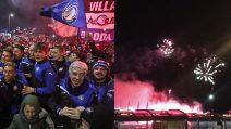 Atalanta, il ritorno a Bergamo è un trionfo: fuochi d'artificio come fosse Capodanno