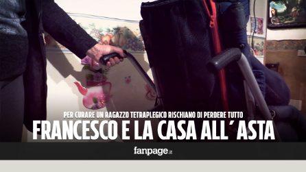 """Francesco, giovane tetraplegico che rischia di perdere casa: """"Abbiamo speso tutto per le cure"""""""