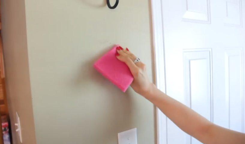 Come eliminare le macchie dalle pareti