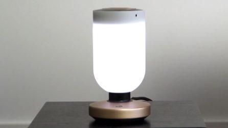 Italia al Ces, Momo: lampada di design per la sicurezza in casa
