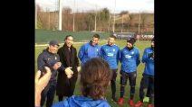 Verona, Caceres saluta così i suoi compagni di squadra