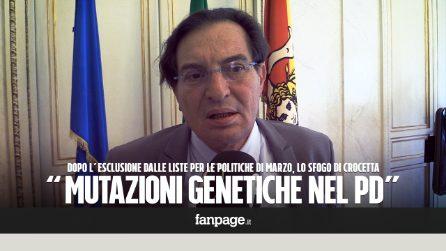 """Elezioni, Crocetta fuori dalle liste del Pd in Sicilia: """"Non è politica, è solo l'adesione al capo"""""""
