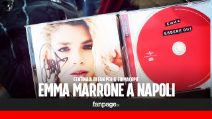 Emma Marrone, l'assalto dei fan a Napoli per il firmacopie